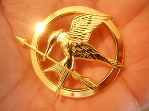 Mockingjay Pin Badge